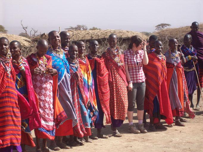 Zu Besuch bei den Massai auf einer Kenia Safari