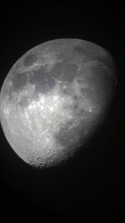 Moon - Celestron Nexstar 6SE - Sony A5000 DSLR