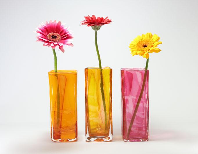 Vasen, viereckig