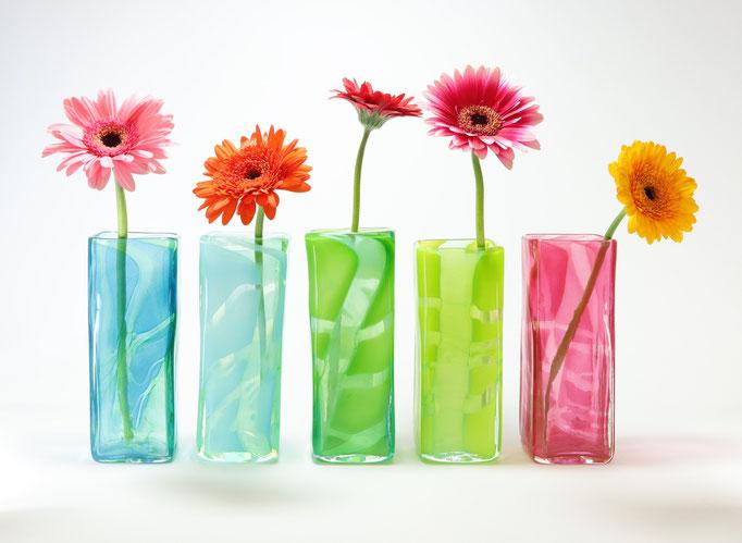 Vase, viereckig
