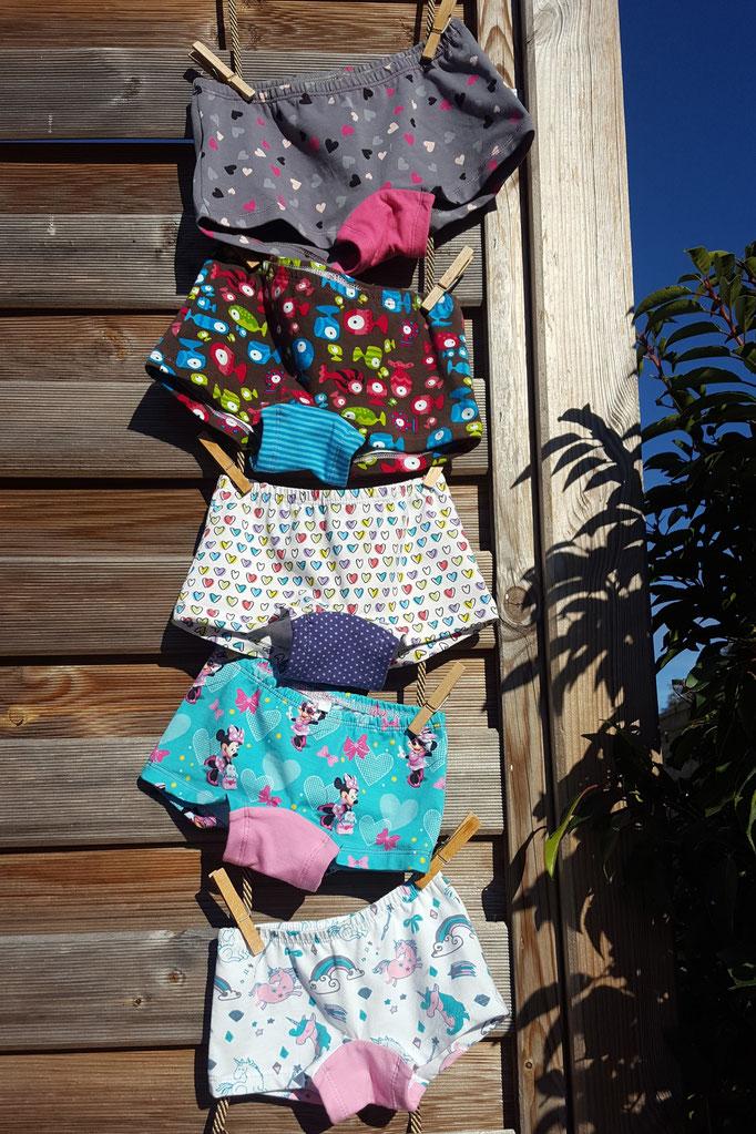 Schnittmuster Mädchen Panty Unterhose