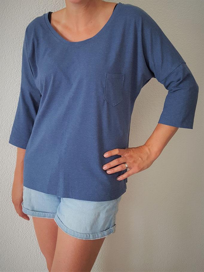 Schnittmuster Oversize Shirt für Damen