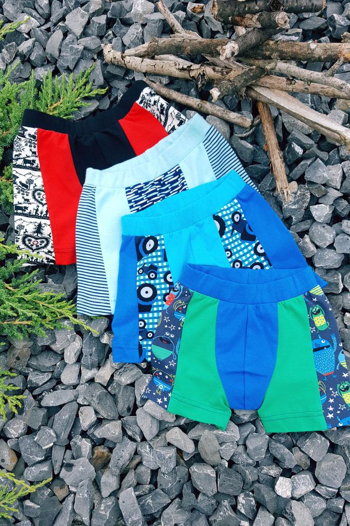 Schnittmuster Jungs Shorts Unterhose