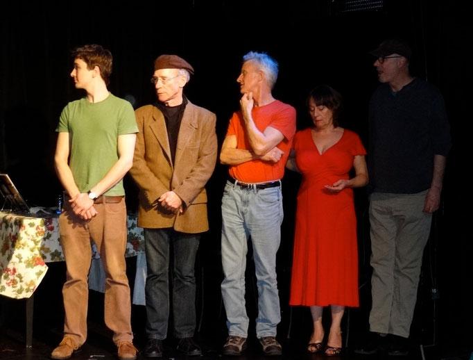 Matthew Bretschneider, Marty McDonough, Joel Haberli, Camille Mazurek, and Mitch Tebo.