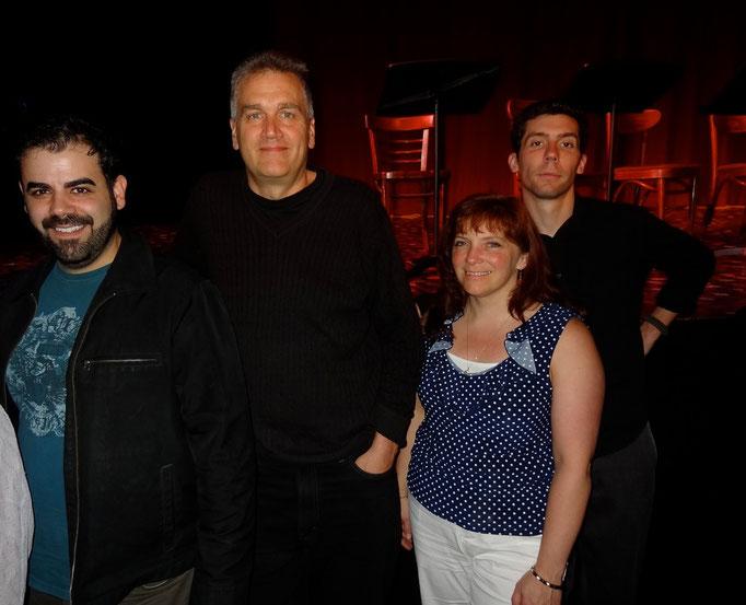Jon Ferreira (Director), Ron Lisnet (Samuel), Stephanie Erb (Stephanie), & Brad LaBree (Patrick/Joe)
