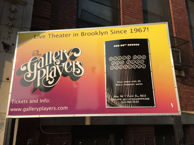 Gallery Players, 199 14th Street (btwn 4th & 5th Aves.),  Brooklyn, NY 11215