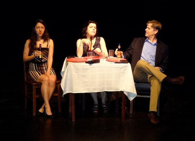Jessica Vera (Marcia), Roxann Kraemer (Cissy Sampson) and Tony Neil (Phil Sampson)