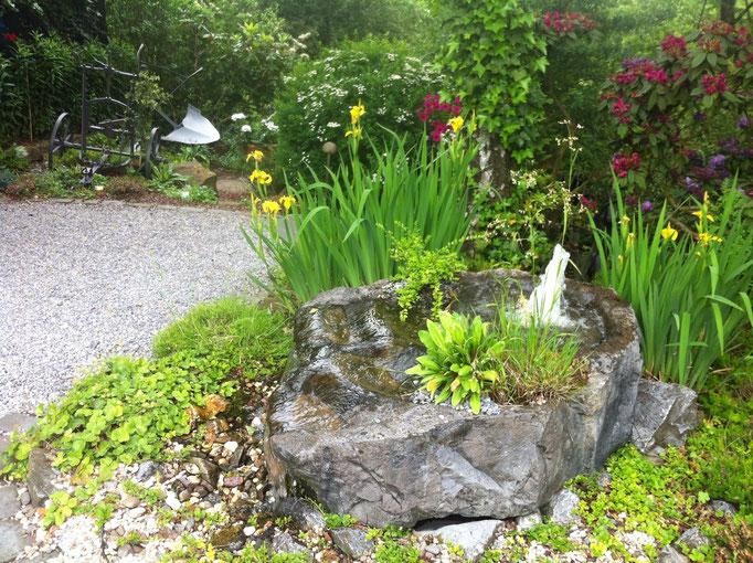 Sprudelstein, Gartengestaltung Gelbrich - Wuppertal
