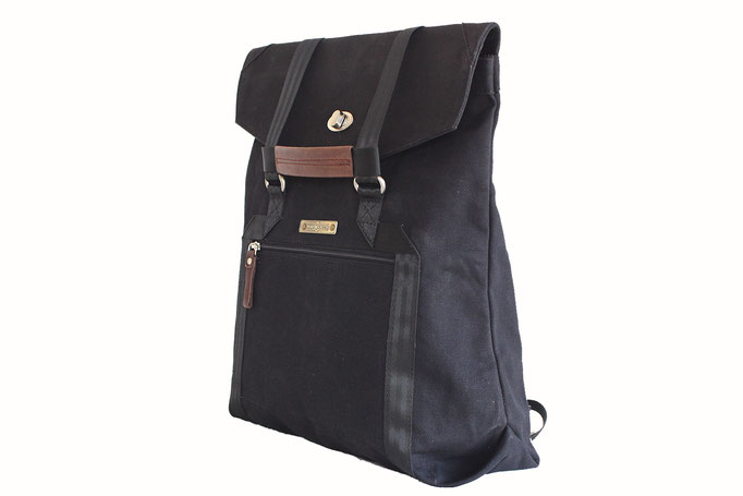 Margelisch Canvas Laptop Shopper Rucksack Akalon