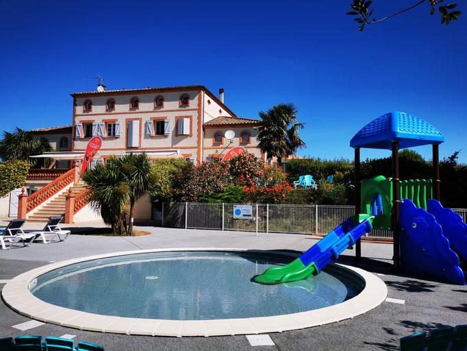 Parc aquatique, toboggans, famille, piscines, Domaine du Koukano, Pays de Cocagne, village vacances, Terres d'Autan