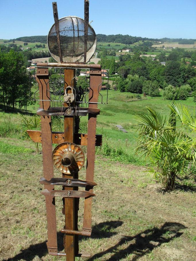 Sieben Skulpturen 2010 Academie Galan Frankreich Koriaths Webseite