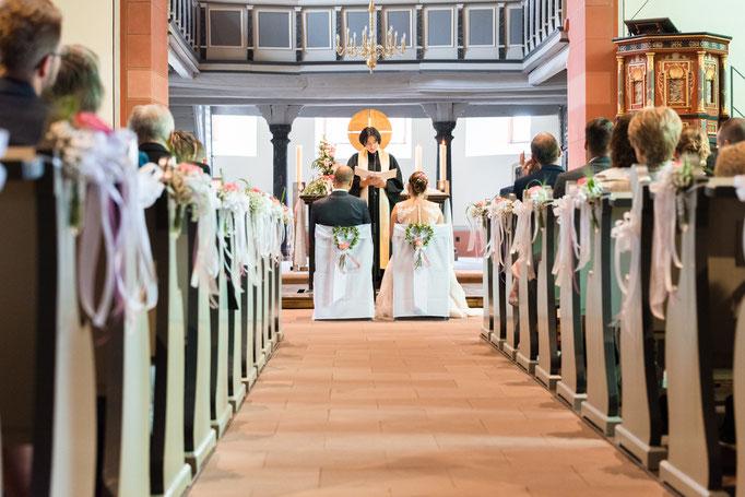 Kirchliche Trauung in der Laurentiuskirche, Usingen