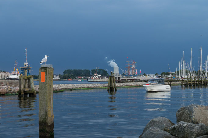 Hafen in Warnemünde
