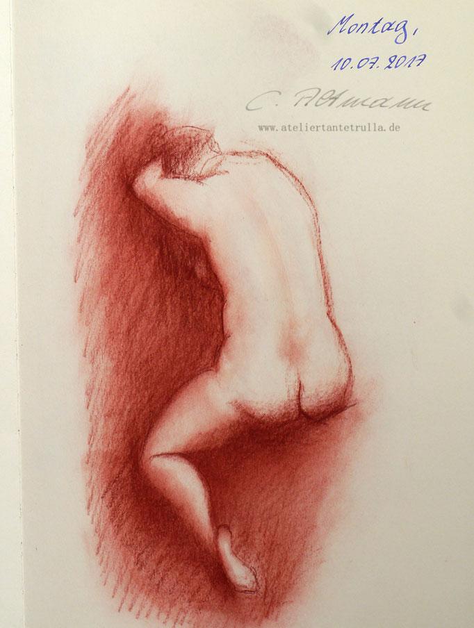 Aktzeichnung 191/365 Conni Altmann