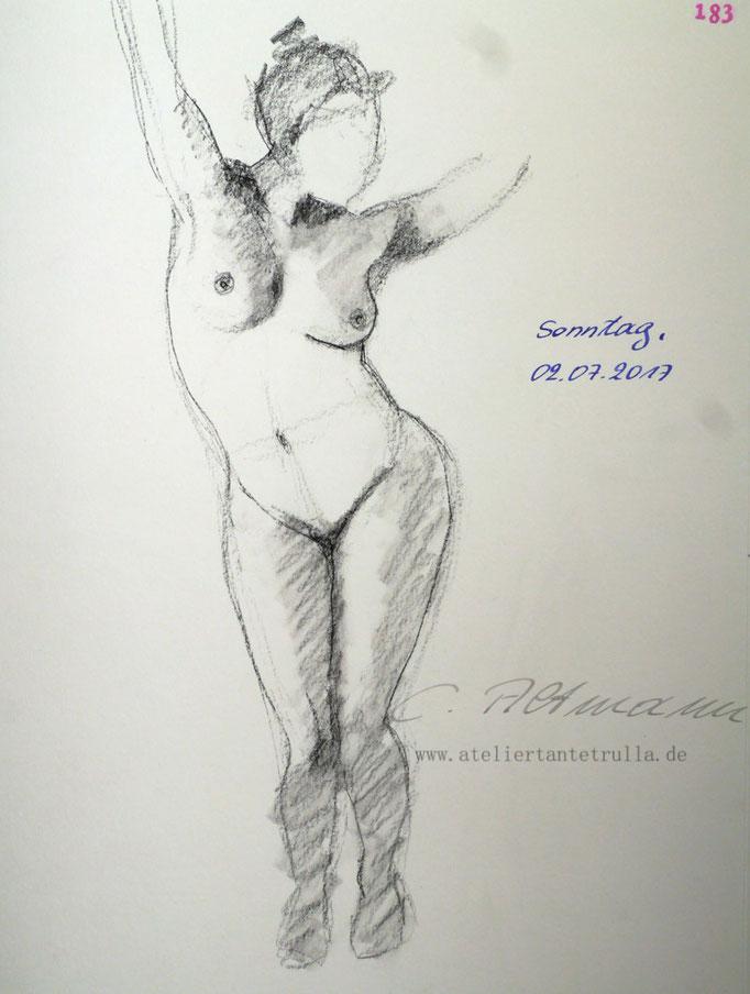 Aktzeichnung 183/365 Conni Altmann
