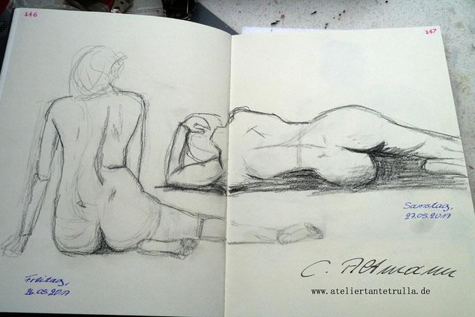 jeden tag eine zeichnung