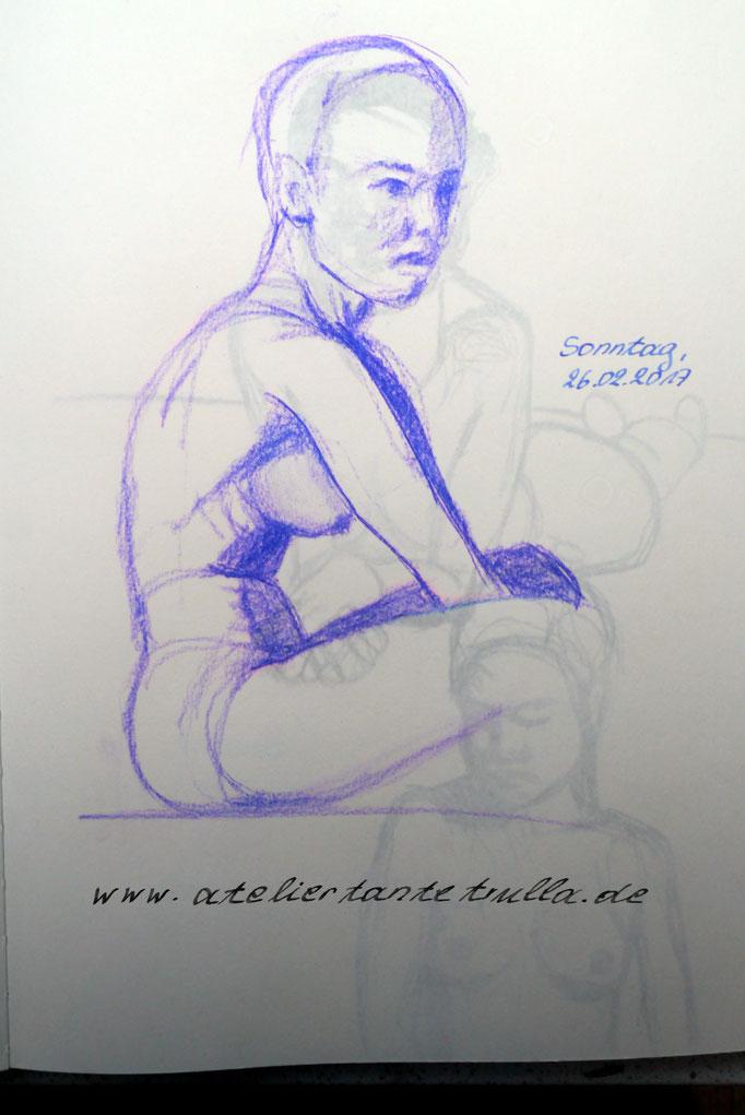 akt zeichnen