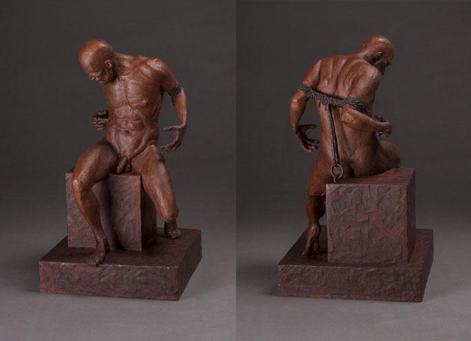 Prometheus by Erik Durant  bronze 18 x 10.5 x 10 in   $6500