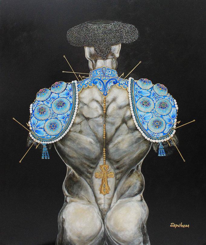El Callejon   acrylic on canvas  Benjamin Sepulveda