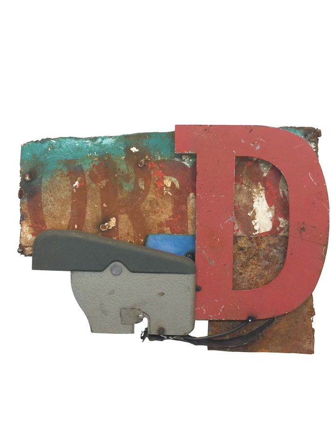 D Is For Dialogue, Mixed Media, $325