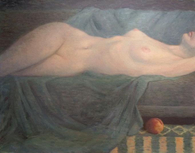 Adrift oil on Canvas  Brent Watkins