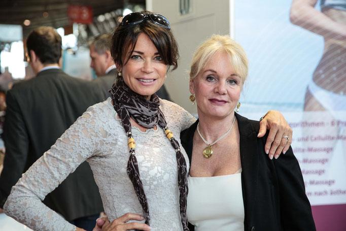 Frau Gerit Kling (Schauspielerin) & Frau Frommer (Beauty lumis GmbH)
