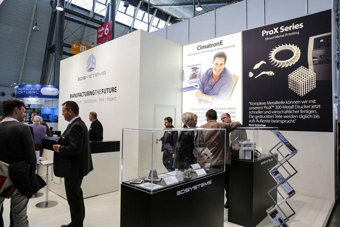 MOULDING EXPO Stuttgart 2015 / Cimatron GMBH 3D-Systems