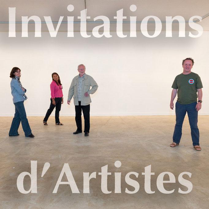 Invitations d'Artistes
