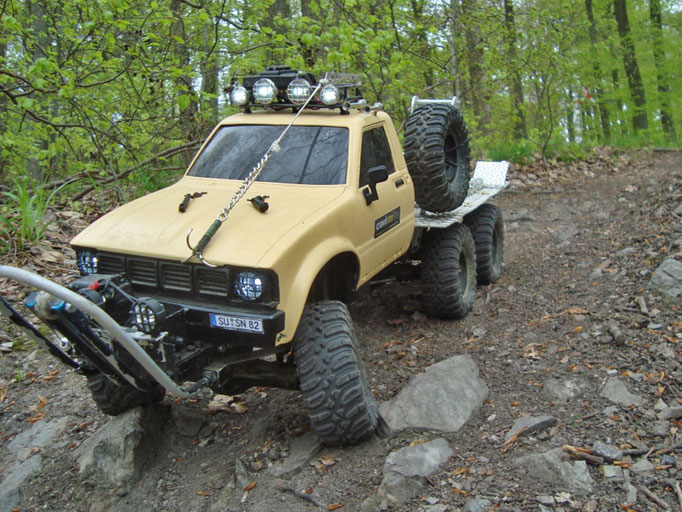 SIXPACK  |  Saschas 6 x 6 Bergefahrzeug
