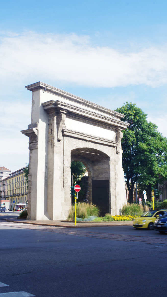 Porta Romana.