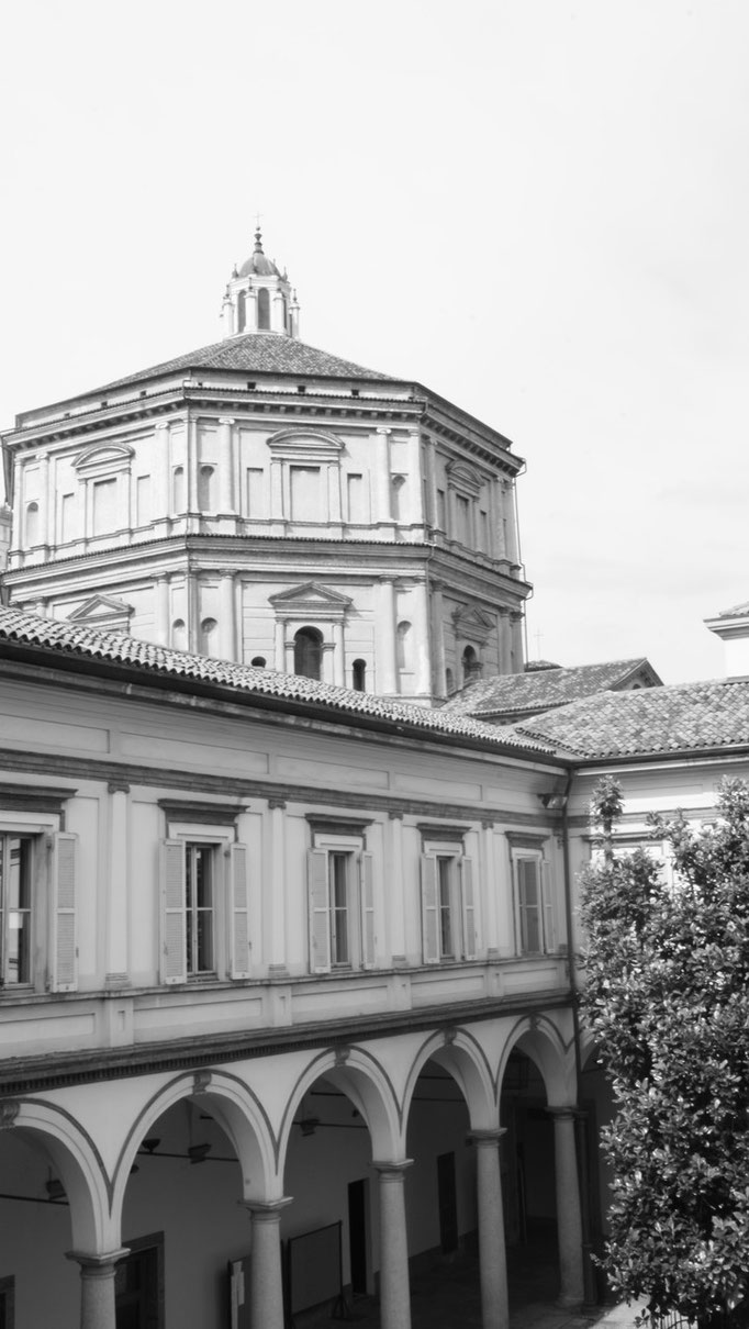 Conservatoire de Milan - Basilique Sainte Marie de la Passion.