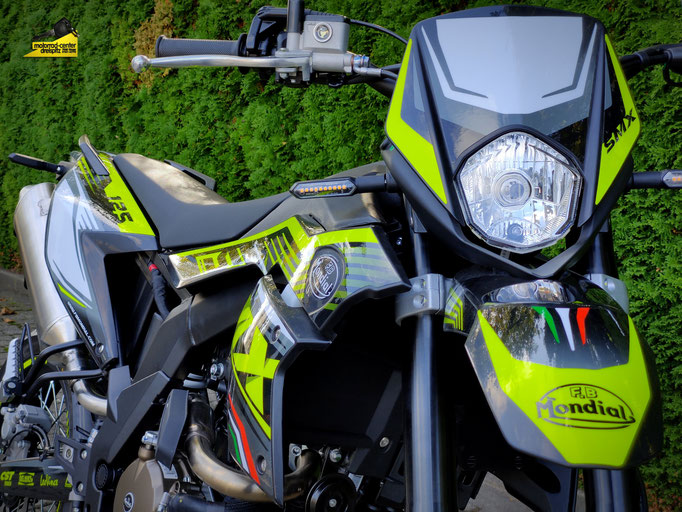 Motorrad-Center Dreispitz, F.B Mondial SMX 125i ABS Supermoto