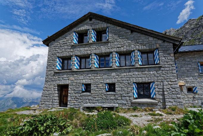 Die Albigna-Hütte