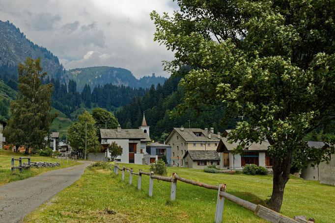 Casaccia - Das Ziel unserer Panoramawanderung
