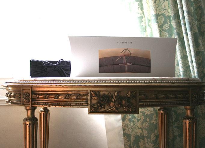 Luxury hanger Satin mauve Gift box 2 - Manoir St. Just