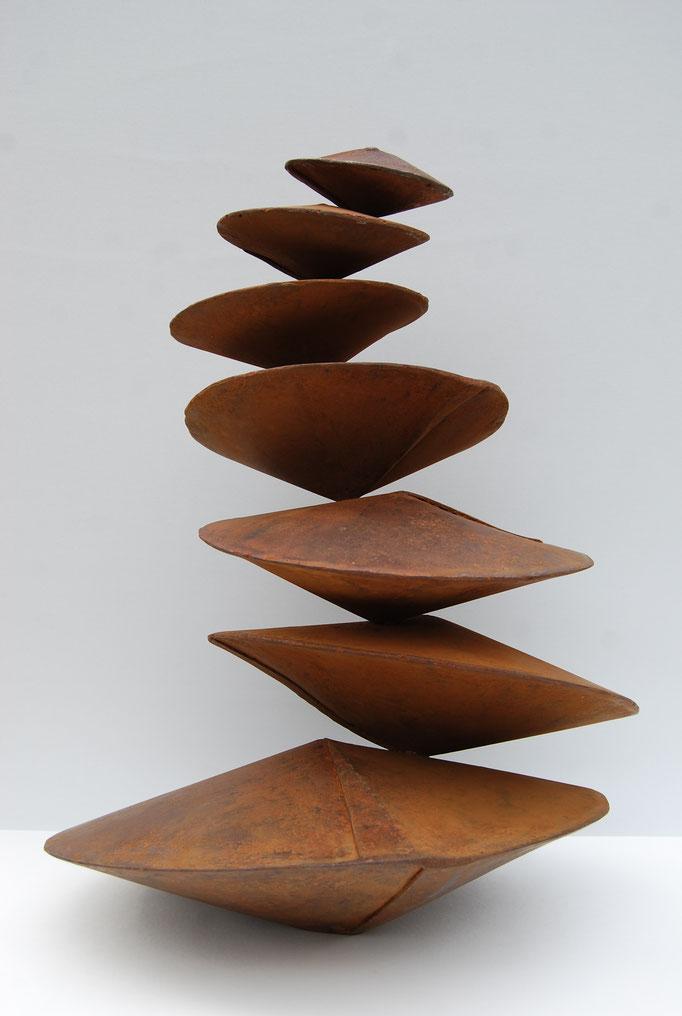 Suite conique verticale n°2 (Collection privée)