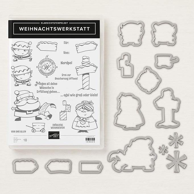 Produktpaket In der Weihnachtswerkstatt ©Stampin' Up!