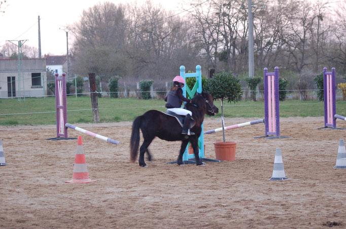 Concours équifun CE de Vaux 16-03-14