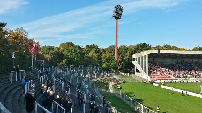 FC Uerdingen Krefeld Stadion Flutlicht