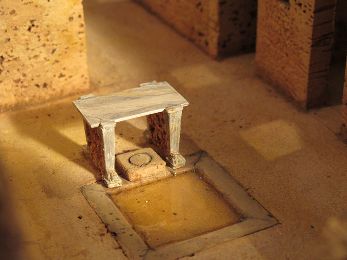 Haus des Menander Korkmodell  1:50