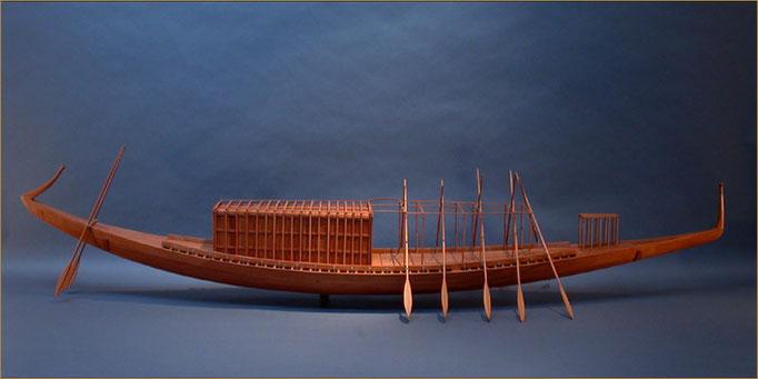 Cheops-Barke, Sonnenboot Holzmodell