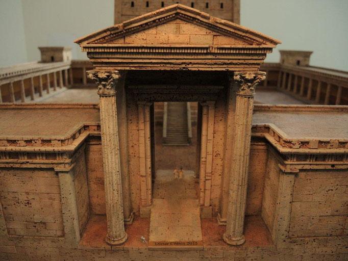Leuchtturm von Alexandria Korkmodell 1:50