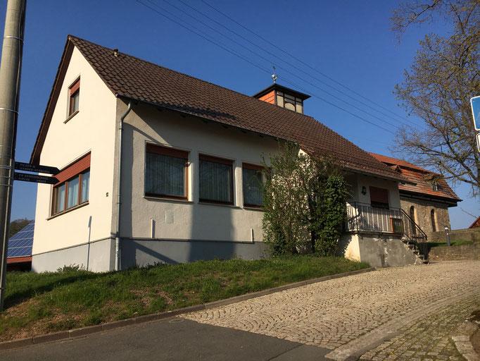 Gemeindehaus Lüderbach, Herberge für Pilger und Wanderer