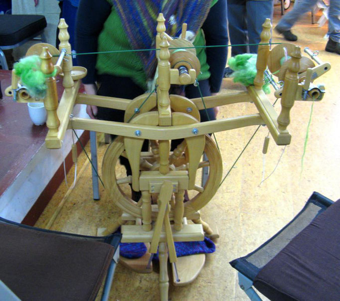 Ulrike Gose - Spinnrad für 3