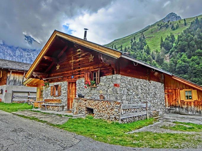 Fiddi Gevers, Engalm auf 1250 m Österreich