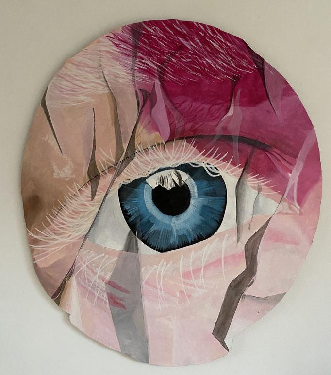 Jazz von Sperling - Acrylic on Wood -