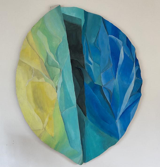 Fade 2 - Acrylic on Wood -