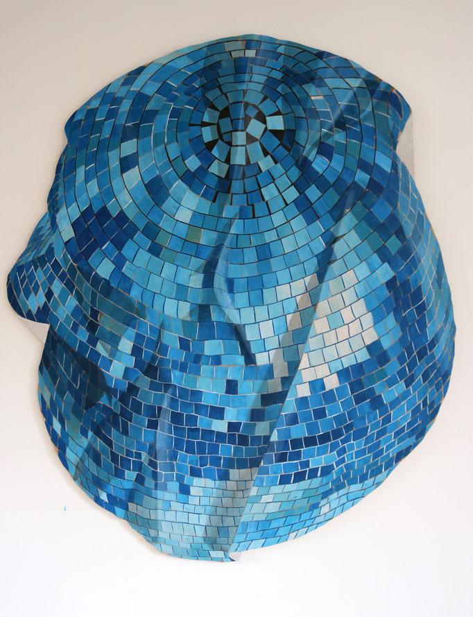 Disco Mosaic - Acrylic on Wood -