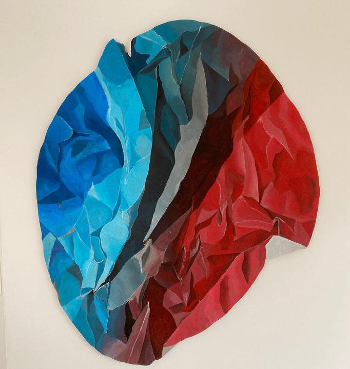 Fade - Acrylic on Wood - SOLD