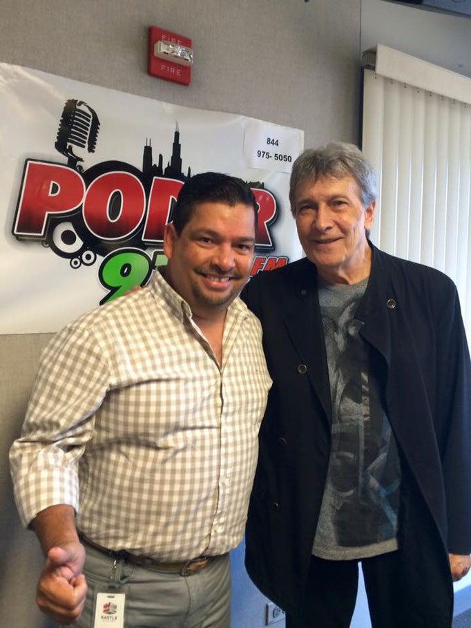 Con Juan Ferrara